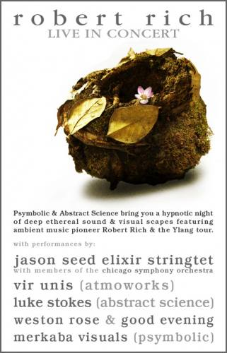 Ylang Tour featuring: Robert Rich Live in Chicago