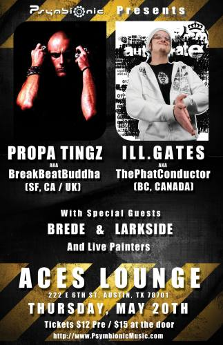 PropaTingz / Ill.Gates @ Aces Lounge