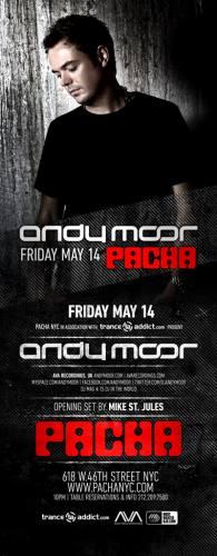 Andy Moor @ Pacha