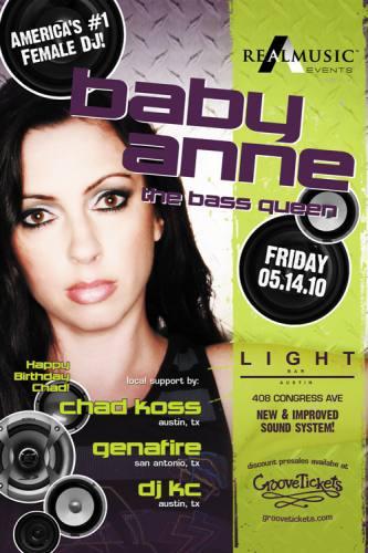 Baby Anne @ Light Bar
