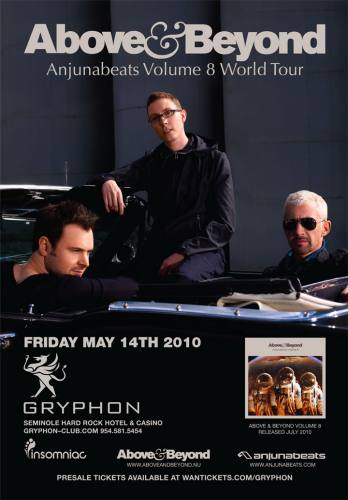 Above & Beyond @ Gryphon Club