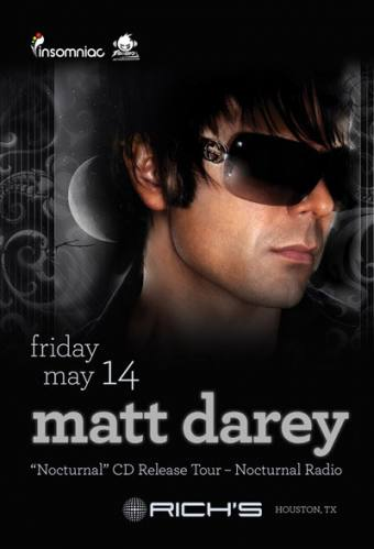 MATT DAREY : Nocturnal CD Release Tour @ Rich's!