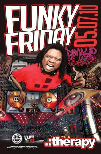 Funky Friday with DONALD GLAUDE