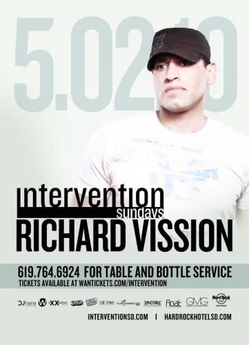 RICHARD VISSION @ INTERVENTION