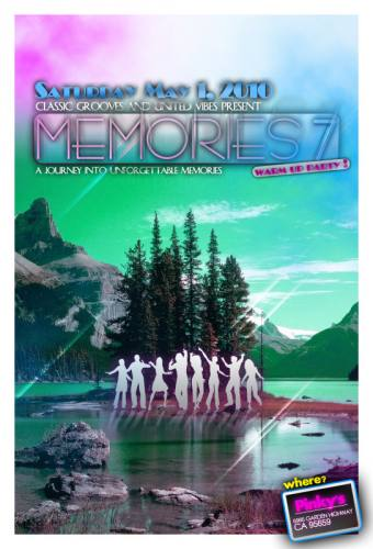 Memories 7: A Warm Up Party @ Pinky's