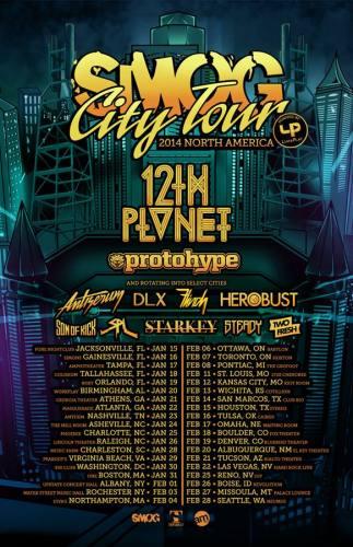 12th Planet @ Masquerade (01-22-2014)