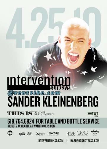 Sander Kleinenberg @ Hard Rock - San Diego