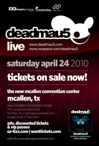 DEADMAU5 LIVE @ The New McAllen Convention Center