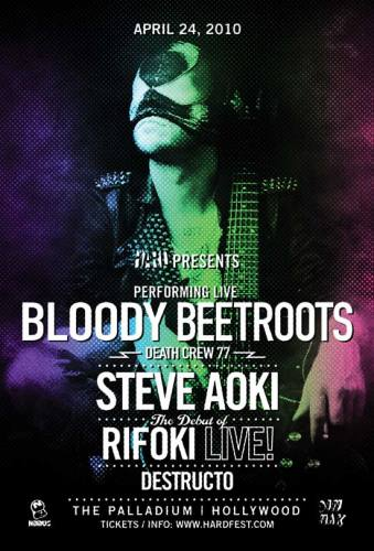 HARD presents The Bloody Beetroots