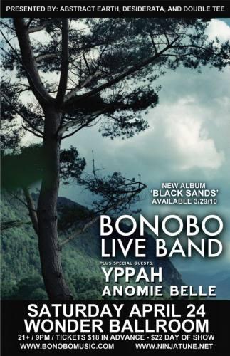 Bonobo (Live) @ Wonder Ballroom