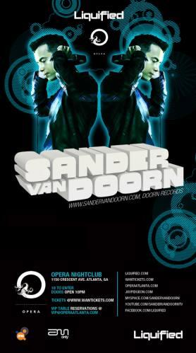 Sander Van Doorn @ Opera