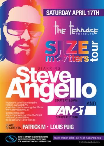 Steve Angello @ Space