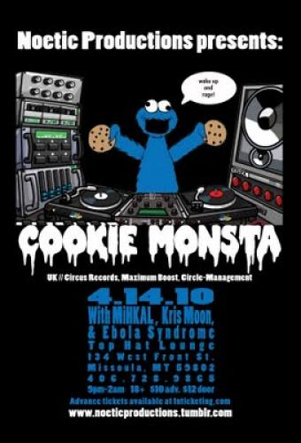 Cookie Monsta, First US Appearance