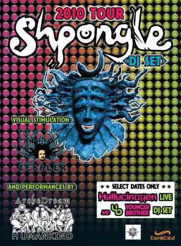 Shpongle, Prometheus, and Tipper @ New Earth Music Hall
