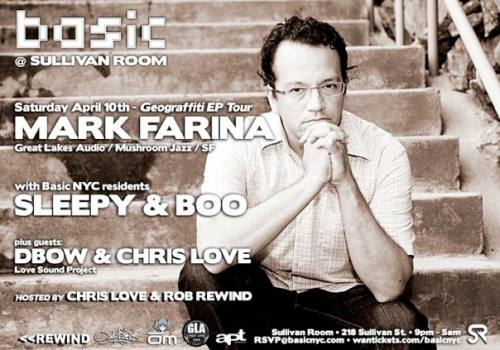 Basic NYC Presents MARK FARINA