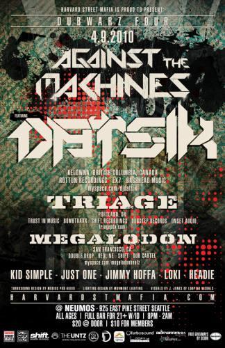 Dubwarz 4:: Datsik + Triage + Megalodon