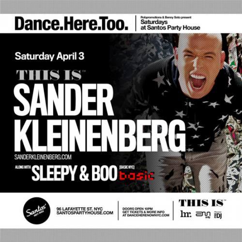 Sander Kleinenberg @ Santos