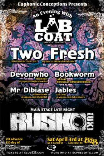Two Fresh + RUSKO @ Club 828