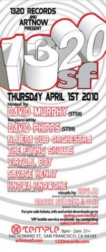 1320.SF w/ Members of STS9 and more