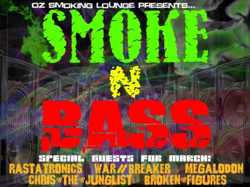 BROKEN FIGURES @ Smoke N Bass!!! SF