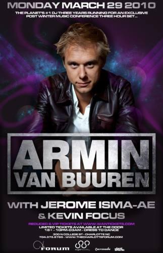 Armin van Buuren @ The Forum