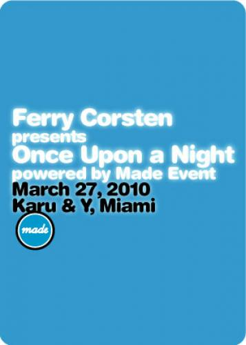 Ferry Corsten presents Once Upon a Night