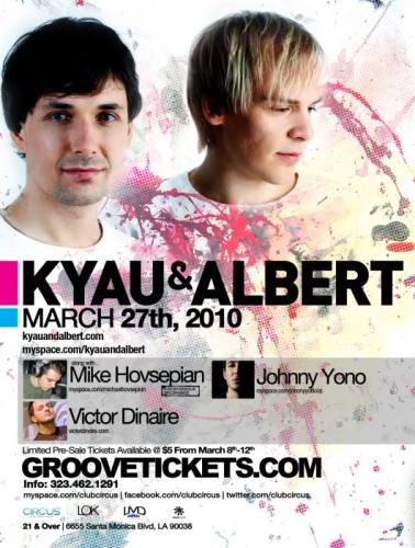 CIRCUS presents Kyau & Albert