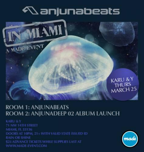 Anjunabeats in Miami @ Karu & Y