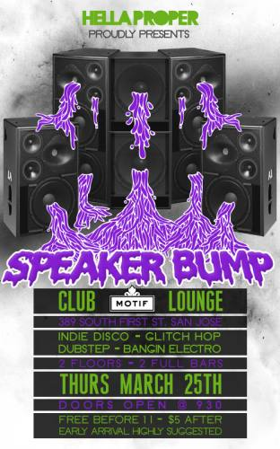 SPEAKER BUMP