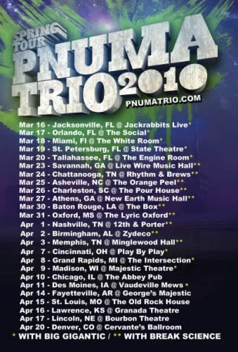 Pnuma Trio @ The Orange Peel