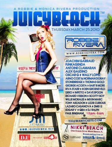 Juicy Beach 2010 with Robbie Rivera