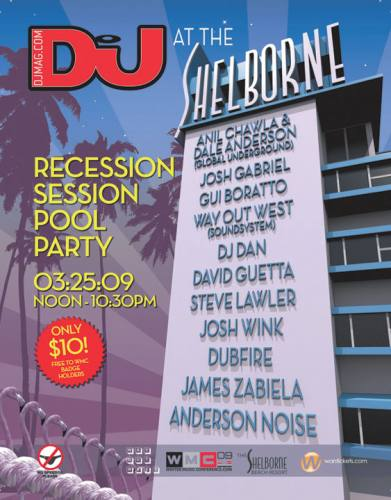 DJmag Opening Pool Party