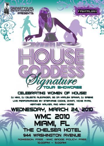 WMC2010 HOUSEGODDESS SIGNATURE TOUR SHOWCASE