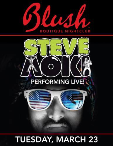 Steve Aoki @ Blush