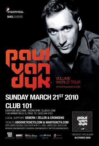 Paul Van Dyk @ Club 101