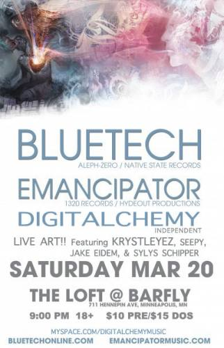 Bluetech and Emancipator @ The Loft at Barfly