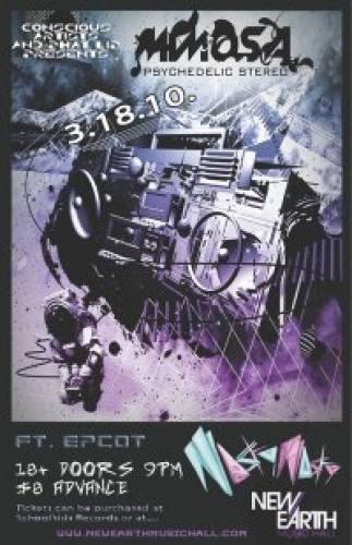 MiMOSA ft. EPCOT & NASTY NASTY @ New Earth Music Hall