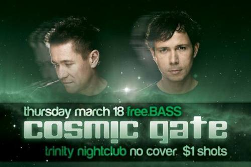 Cosmic Gate @ Trinity