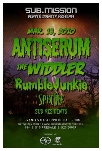 SUB.MISSION Denver Dubstep Presents Antiserum