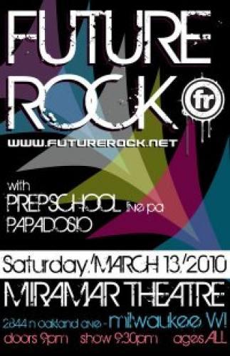Future Rock @ Miramar Theatre