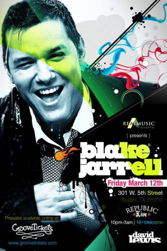 Blake Jarrell @ Republic Live