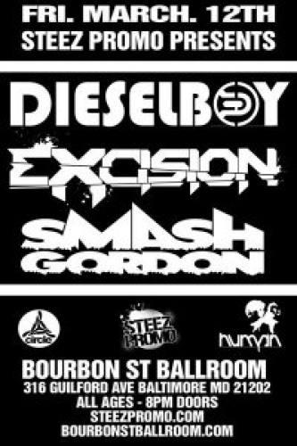 Dieselboy & Excision @ Bourbon Street