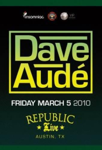 Dave Audé at Republic Live