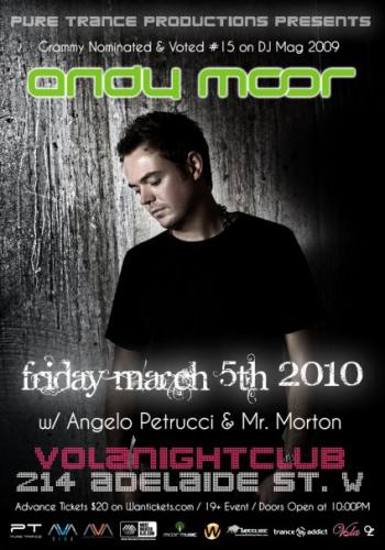 Pure Trance presents Andy Moor