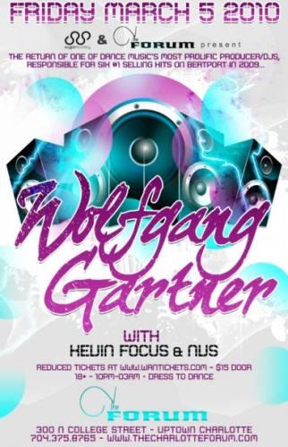 Wolfgang Gartner @ The Forum