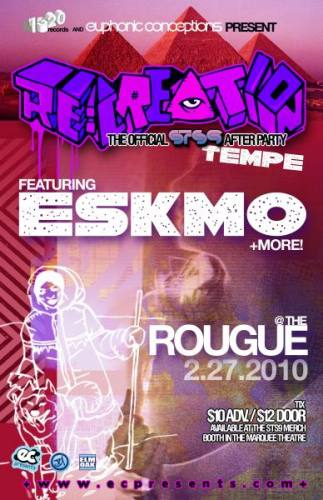 Recreation STS9 After Party w/ ESKMO