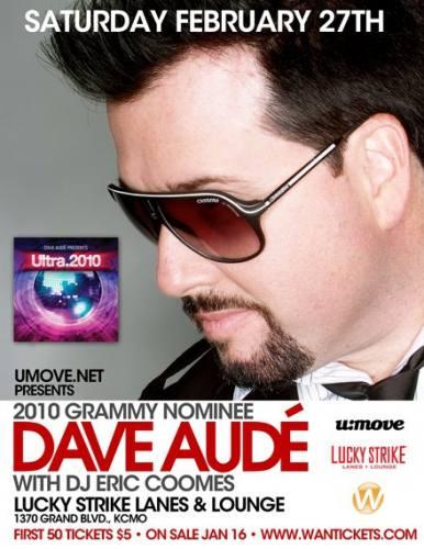 Dave Audé at Lucky Strike