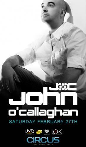 John O'Callaghan @ Circus Disco