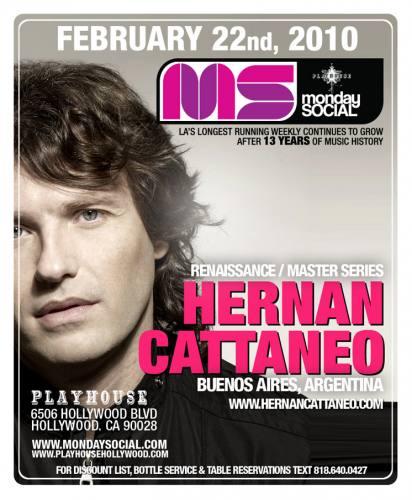 MNS presents Hernan Cattaneo
