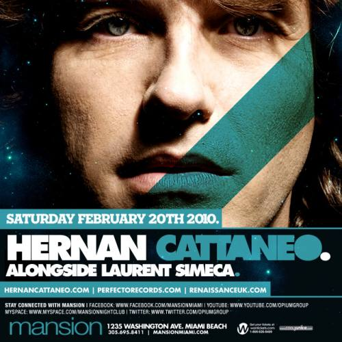 Hernan Cattaneo at Mansion